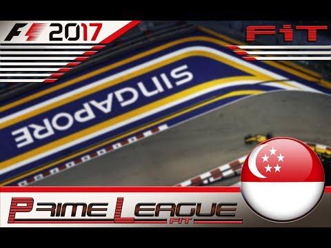 Prime League F1 2017 #14 GP Singapore 02.02.18 - Live Streaming
