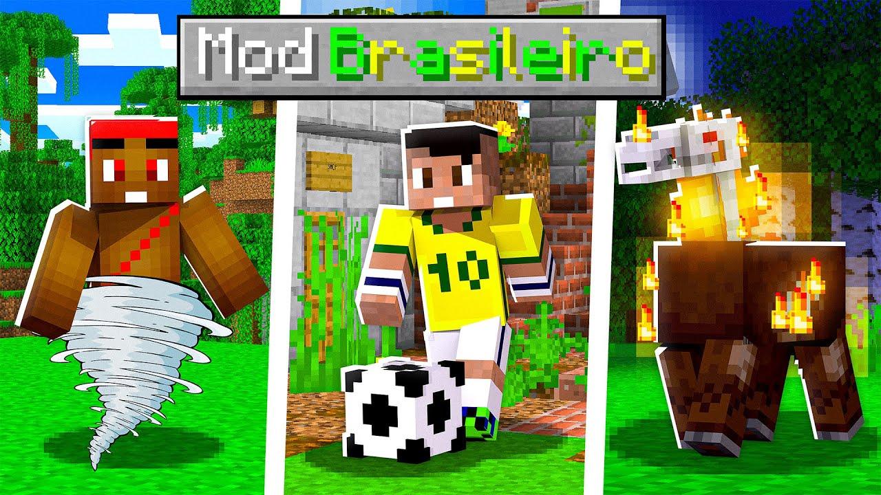 E se o Minecraft fosse no Brasil?! 🇧🇷