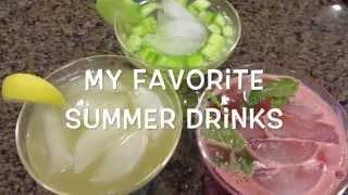 My Favorite Summer Drinks | Brittnissx3