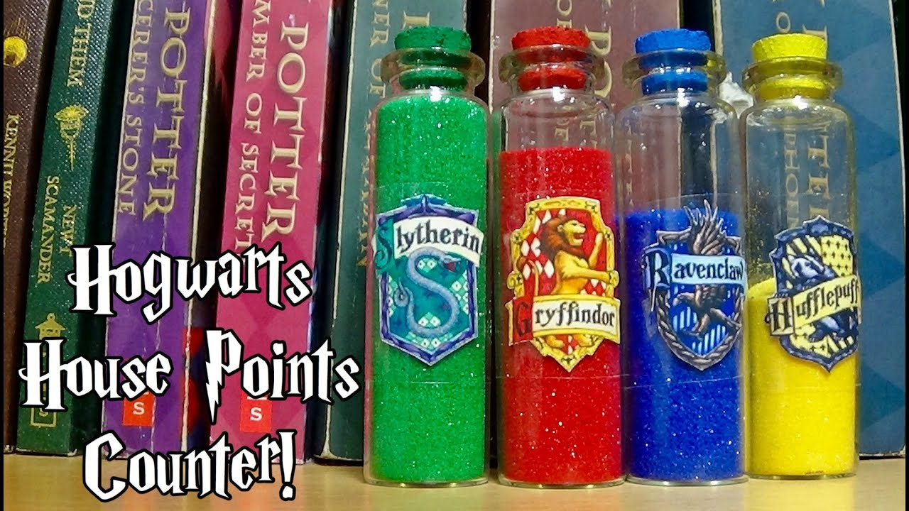 DIY Hogwarts House Points Counter