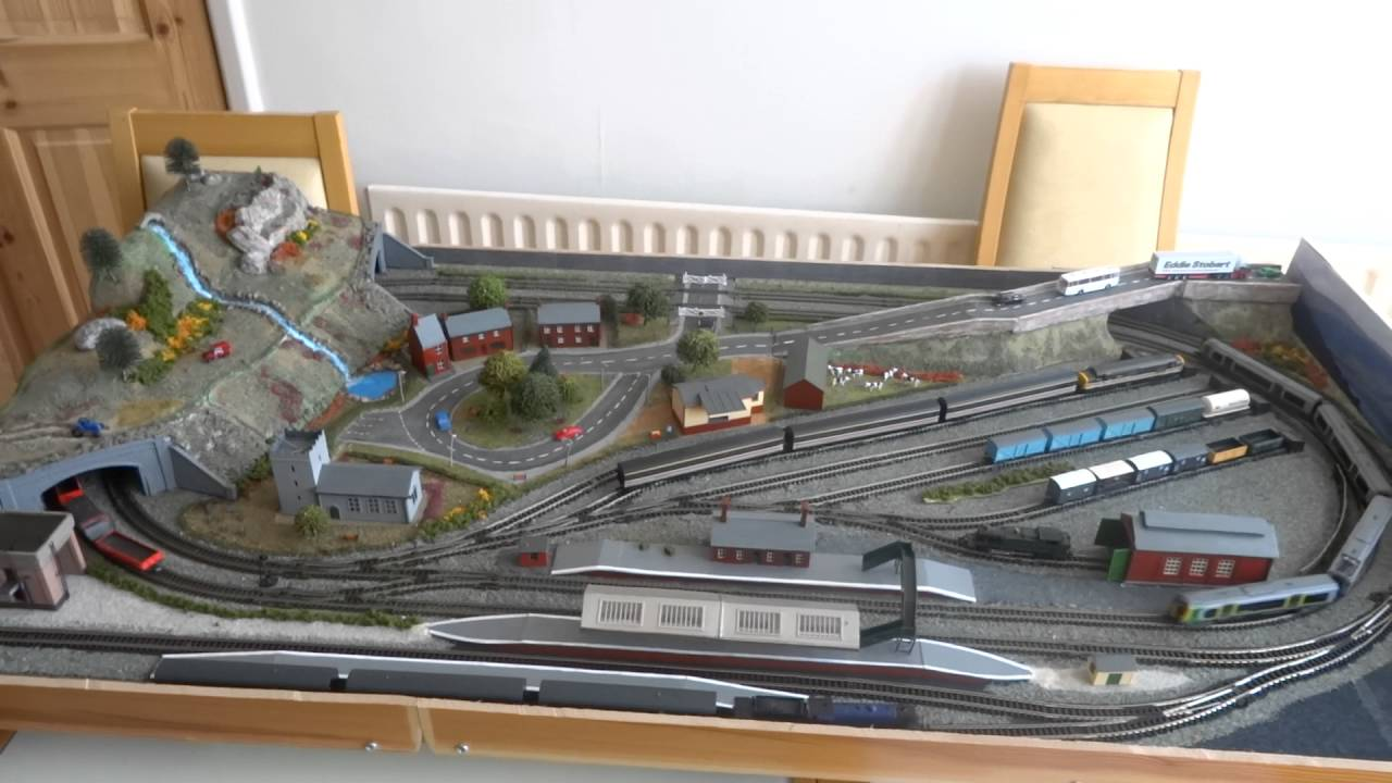 N Gauge Layout Project Youtube