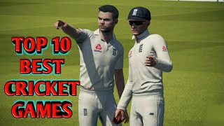 TOP 10 BEST GRAPHICS CRICKET GAMES FOR ANDROID | 2020 | LATEST |🏏🏏