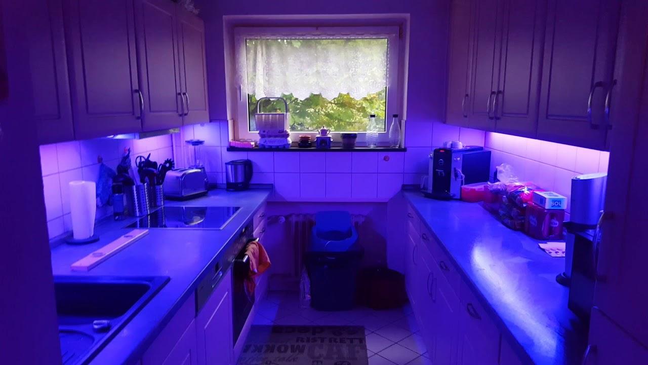 Küche LED Stripes - YouTube