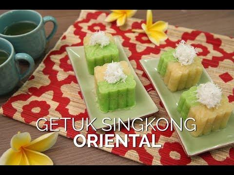 Resep Mudah Membuat Getuk Singkong Oriental