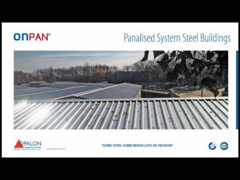 OPALON Prefabricated Container Steel Structure Modular Building ONPAN