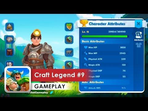 Craft Legend Walkthrough #9 (iOS & Android)