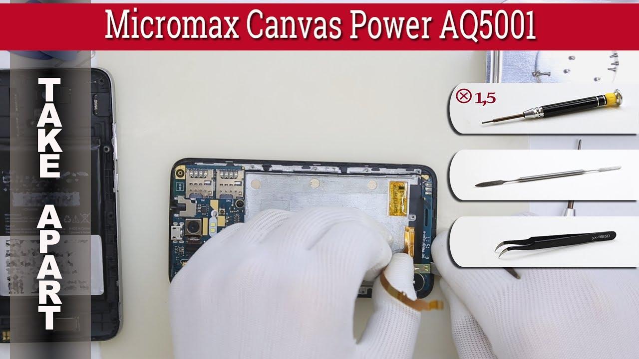 Micromax A94 замена тачскрина - YouTube