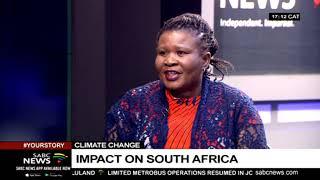Impact of climate change in SA: Makoma Lekalakala