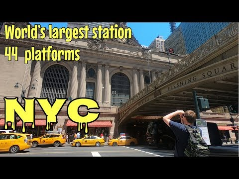 (4K) Grand Central Terminal (world's Largest Station) New York 2019.