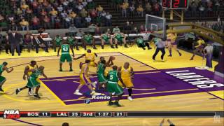NBA 2K8 PS2 Gameplay HD