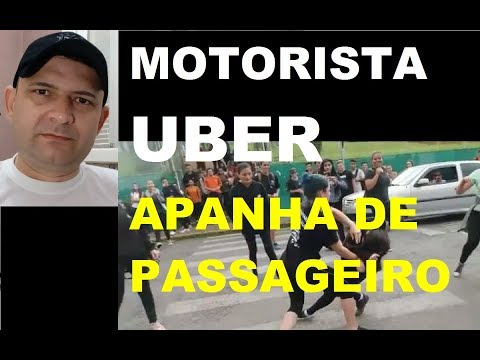 MOTORISTA UBER APANHA DE PASSAGEIROS