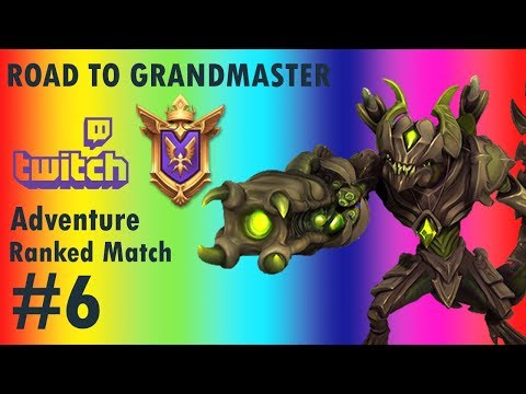 Paladins: Twitch Drogoz Road to Grand Master Adventure #6