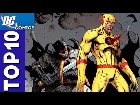 Top 10 Deaths From Justice League: The Flashpoint Paradox