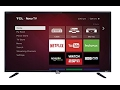 TCL 32S3800 32 Inch 720p Roku Smart LED TV | 2015 Model