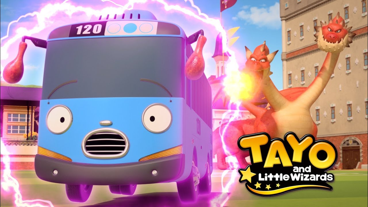 Tayo and the Little Wizards Official Trailer #2 l Meet first at Netflix! l Tayo the Little Bus