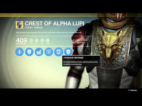 Destiny: Exotic Hunter Chest Piece
