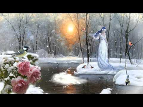 видео футаж зимняя природа