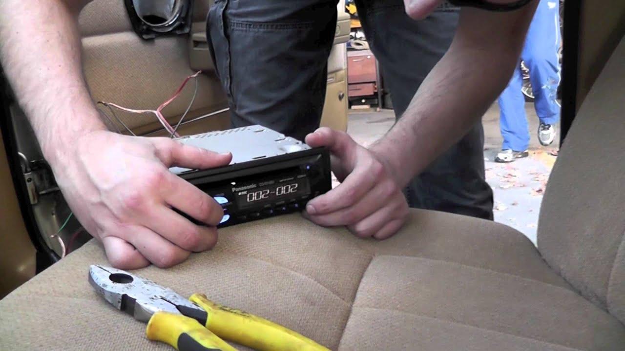 1990 Volvo 240 Jbl Speaker Installation Youtube Wiring Manual