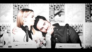 cast of ouat funny moments | sdcc 2016