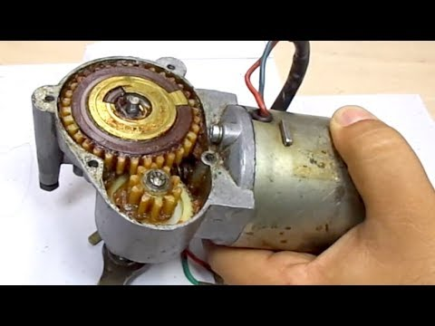 Gear Fix Wiper Motor Repair Silecek Motoru Disli Tamiri