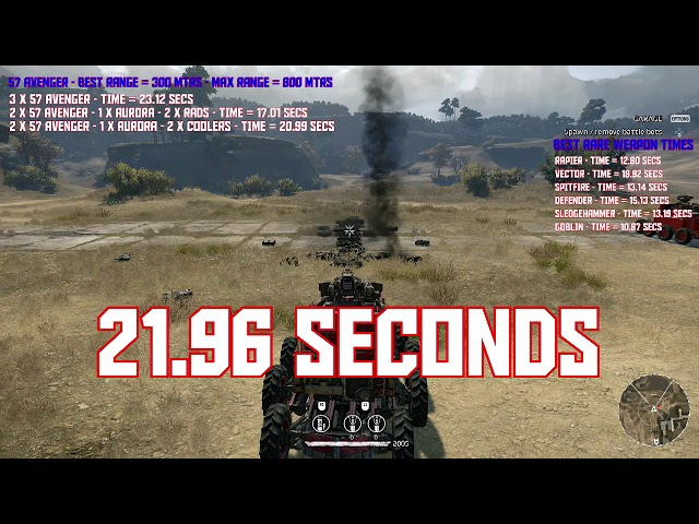 Crossout best rare weapon combo setup for cannons, wasp, synthesis