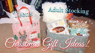 Christmas Gift Ideas for Teens & Women! 🎁 | Lots of Stocking Stuffers!🎄❄️🍬🛁🍫🕯