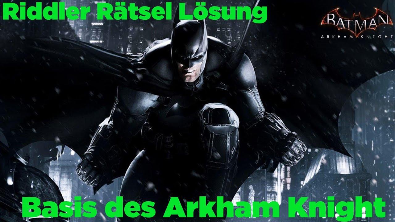 Batman Arkham Knight Rätsel