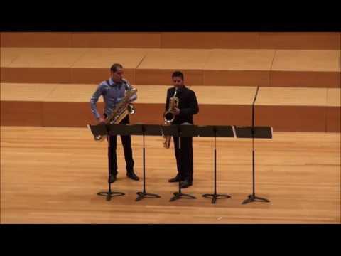 Duo-Sonata S.Gubaidulina. Pablo León y Víctor Pellicer.