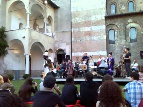Baba Sissoko & Allievi Masterclass Conservatorio