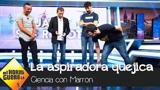 La aspiradora quejica deja sin palabras a Santi Cazorla - El Hormiguero 3.0