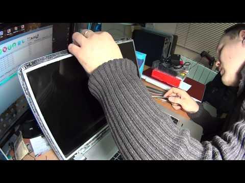Как разобрать экран на ноутбуке HP Envy 17. Замена матрицы. How To Replace Display