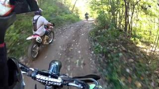 Hatfield McCoy Trail Rock House Dirt Bike