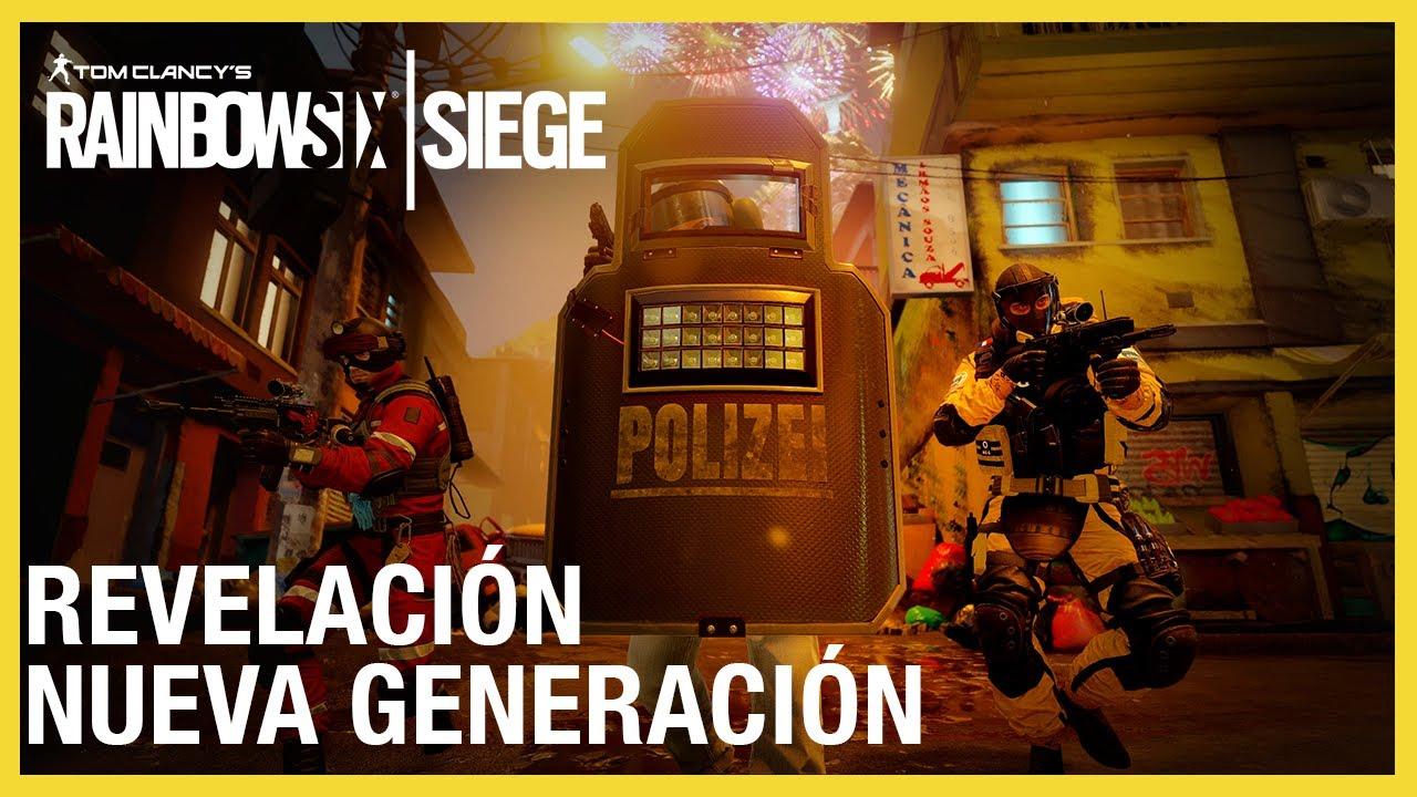 Rainbow Six Siege - Nueva Generación Tráiler Revelación | Ubisoft LATAM