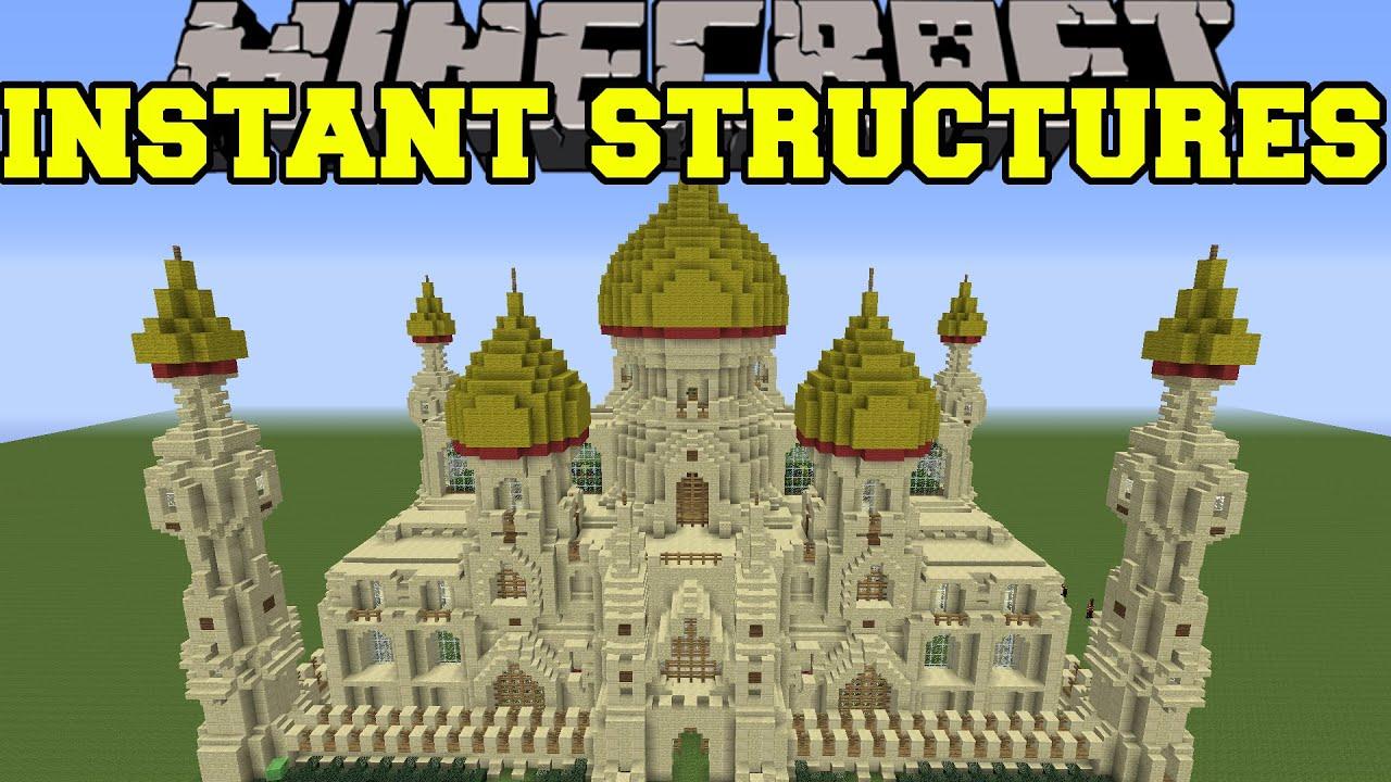 Instant Building Minecraft