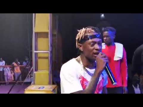 FIK FAMEICA LIVE ON STAGE IN MBALE SHIRTLESS #1