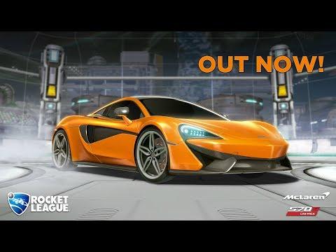 New Rocket League Car: McLaren 570s! thumbnail