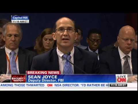 CNN covers Mac's questions at Intelligence Committee hearing about NSA leaks