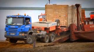 Как мы возим грузы 3(Перевозка комплекта тяжеловесного и негабаритного оборудования по маршруту Санкт-Петербург - Ухта - Усинск., 2015-09-21T09:08:23.000Z)
