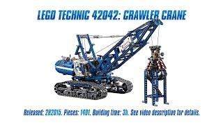 'Lego Technic 42042: Crawler Crane' Unboxing, Speed Build & Review