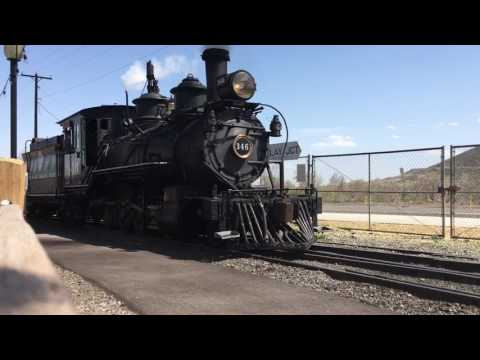 D&RGW 346 Running Around The Colorado Railroad Museum