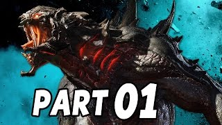 Let's Play Evolve Gameplay German Deutsch Part 1 - Goliath in Action