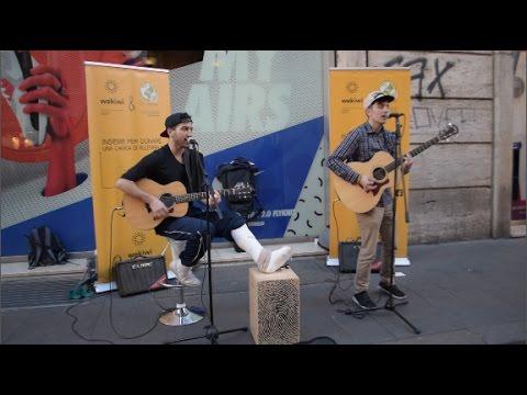 Ed Sheeran - Shape Of You MASHUP (STREET Improvisation Cover By Federico Baroni & Gabriele Esposito)