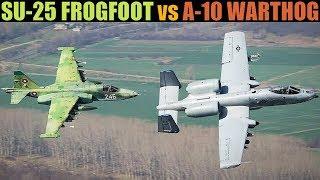 Comparison: A-10 Thunderbolt II vs Su-25 Frogfoot