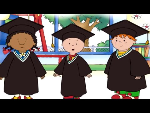 Funny Animated Cartoon Caillou | Caillou's Surprise |  Animated Funny Cartoons for Children