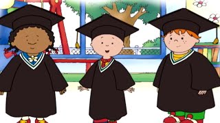 Funny Animated Cartoon Caillou | Caillou's Surprise |  Animated Funny Videos For Kids