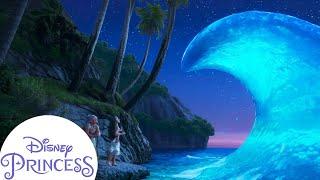 The Ocean Chooses Moana | Disney Princess