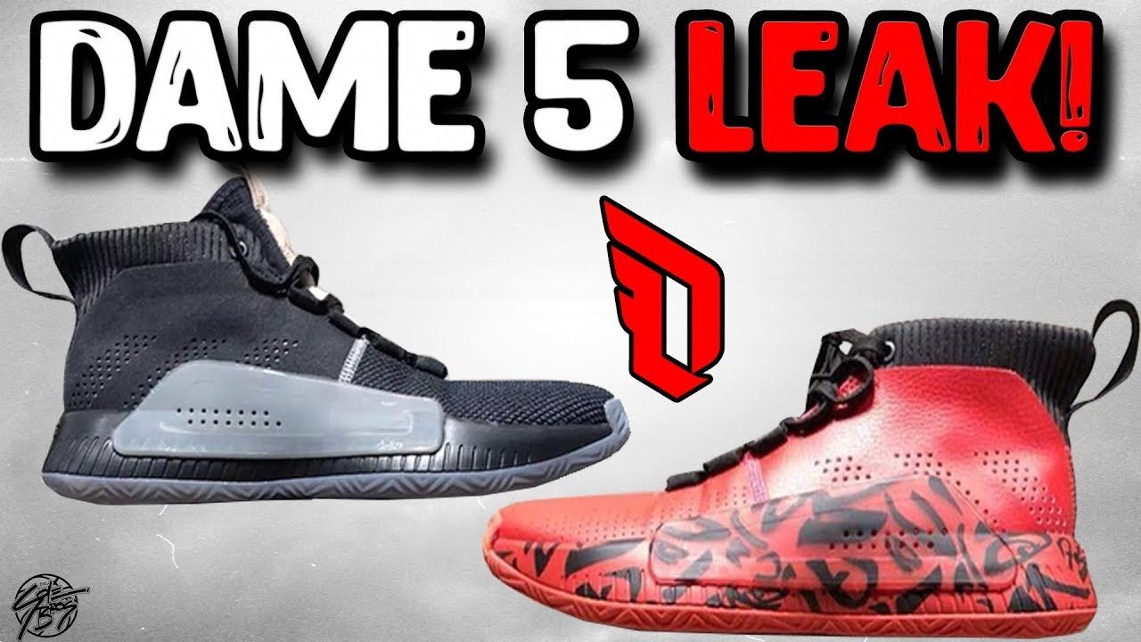 official photos eb9fe 49008 Adidas Dame 5 Leak! (Damian Lillard)
