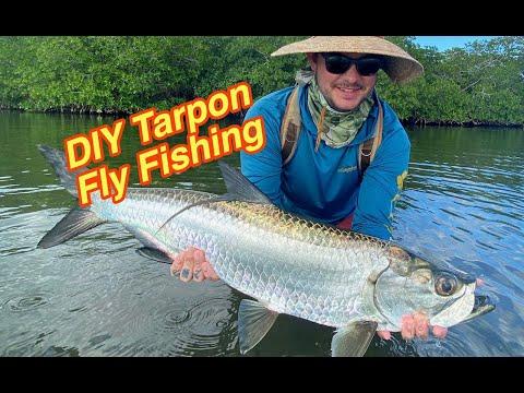 DIY Tarpon While FlyFishing In Mexico!