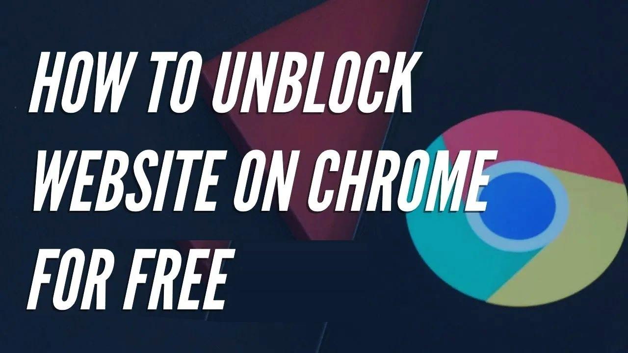 Unblock Google Chrome