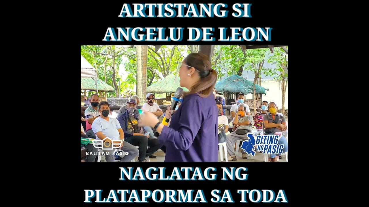 Download Balitam Pasig Exclusives: Artistang si Angelu De Leon ay Tatakbo bilang Konsehal ng district 2
